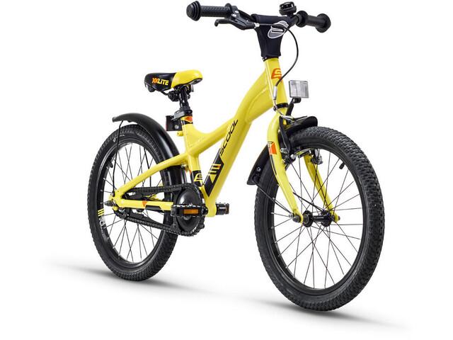 s'cool XXlite 18 alloy 2. Wahl Kinder yellow/black matt